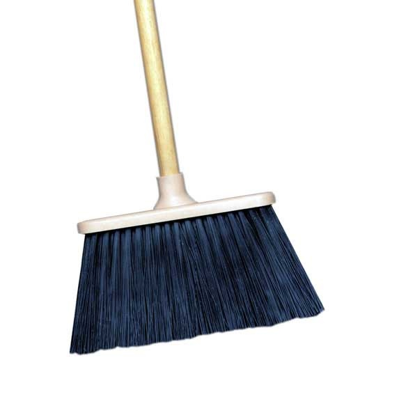 "9"" Average Duty Upright Brooms Plastic Block"