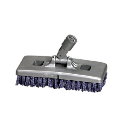 "9"" Multi Purpose Scrubber with Nylon Grit Bristle"