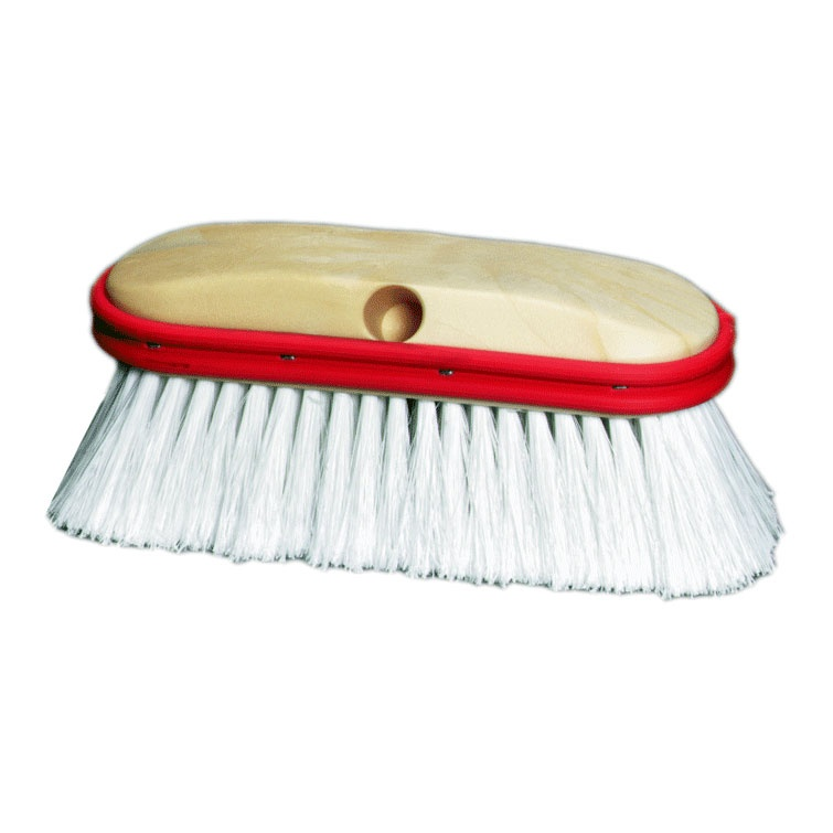 "9"" Wash Brush – White Flagged Polystyrene (extra soft tips)"