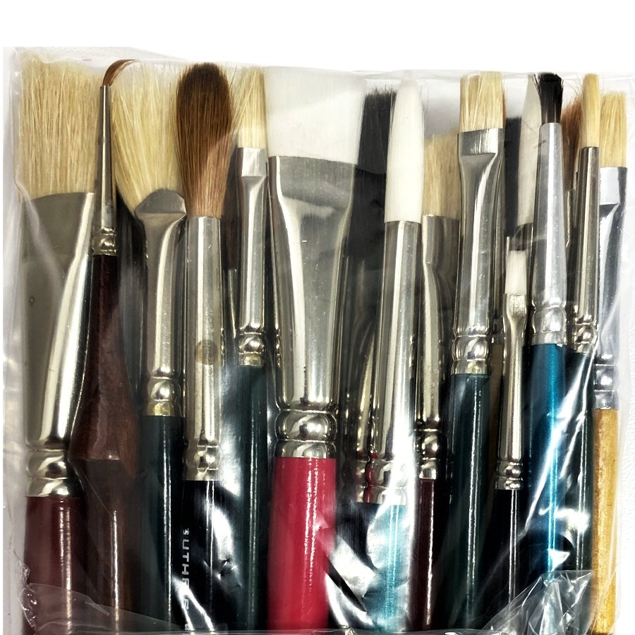 Assortment Pack of Artist Brushes