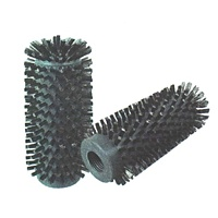 "Bore Brush 2-1/2"" Diameter – 0.006"" Stainless Steel Wire PVC Core"