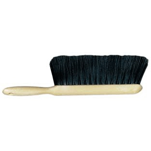 Counter Duster – Black 5 x 15 Row Polypropylene Bristle Plastic Handle
