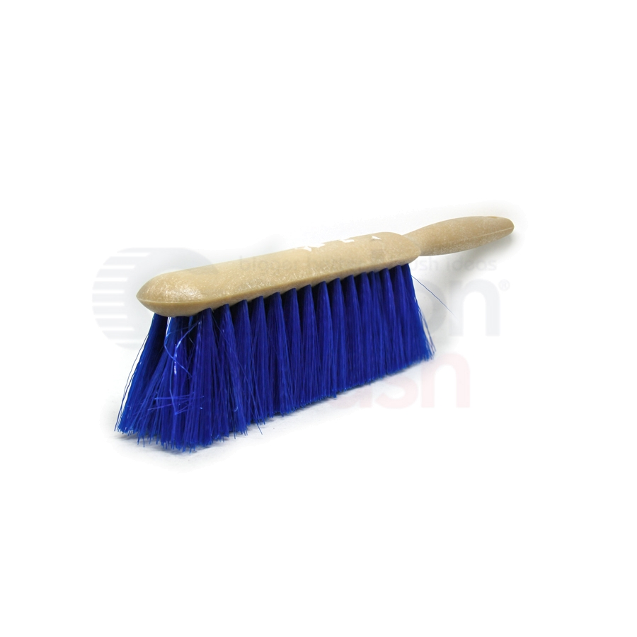 Counter Duster – Blue 5 x 15 Row Polypropylene Bristle Plastic Handle