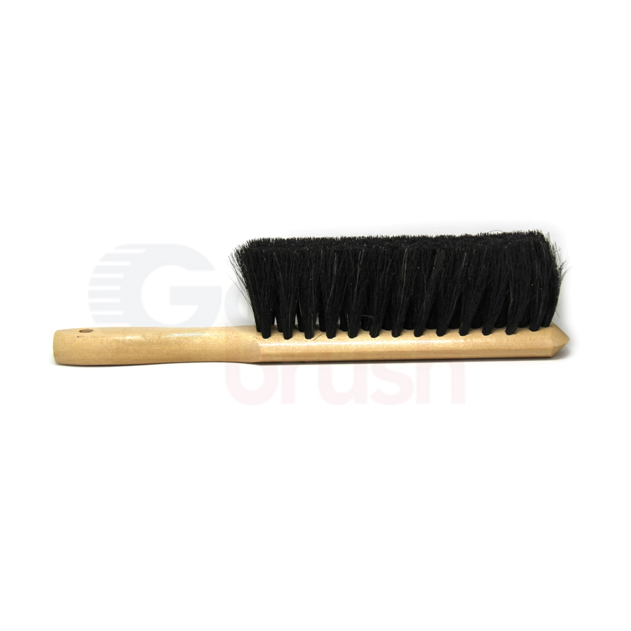 Counter Duster for Fine Dusting – 5 x 15 Row Anti-Static Horsehair Bristle Wood Handle 3