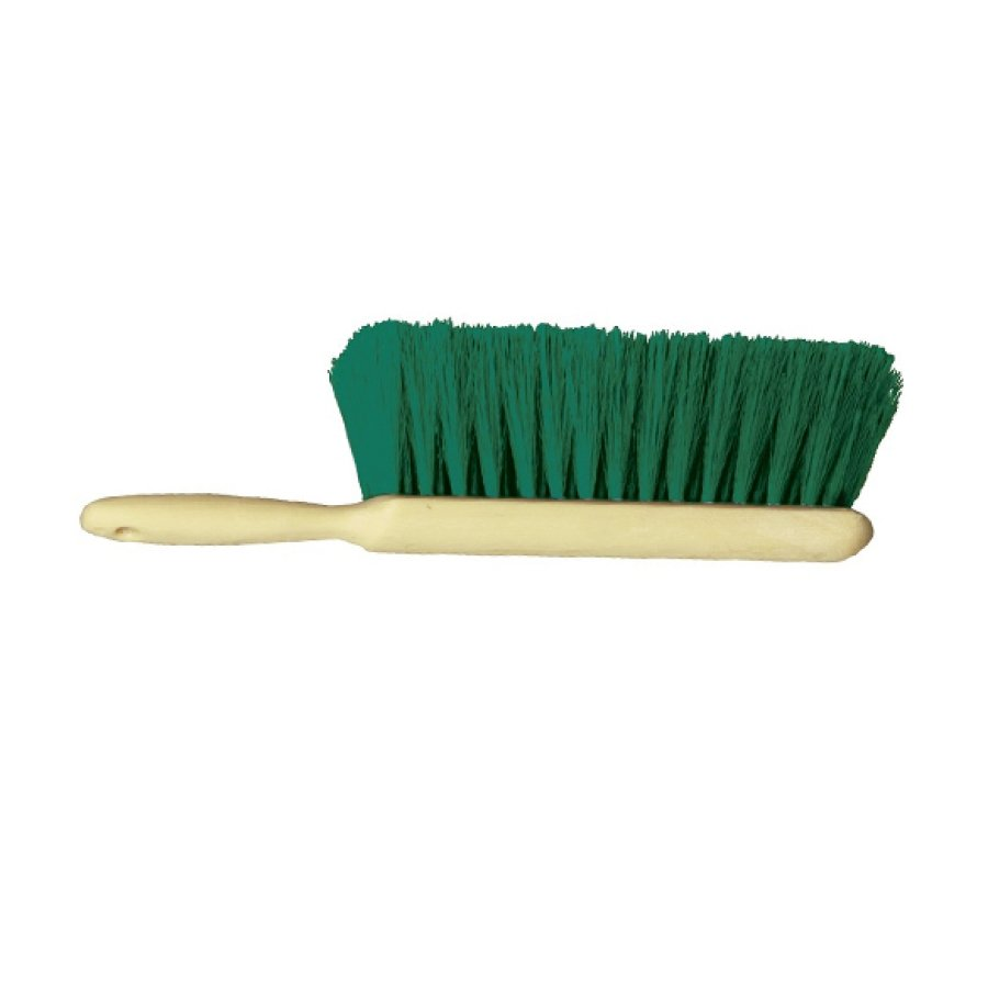 Counter Duster – Green 5 x 15 Row Polypropylene Bristle Plastic Handle