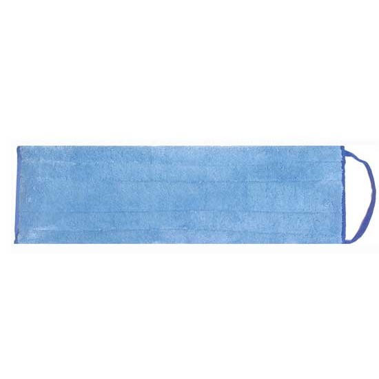 eMOP™ Pads - Dry Pad Blue, Microfiber with Blue Piping
