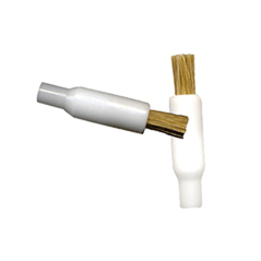 "Flow-Thru Solvent Applicator Brush - Nylon 1/2"" Trim"