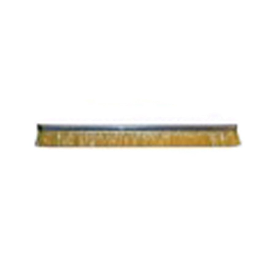 "Height 1"" No. 4 Channel Strip Brush - .010"" Bristle Diameter  - Yellow Antistatic Nylon"
