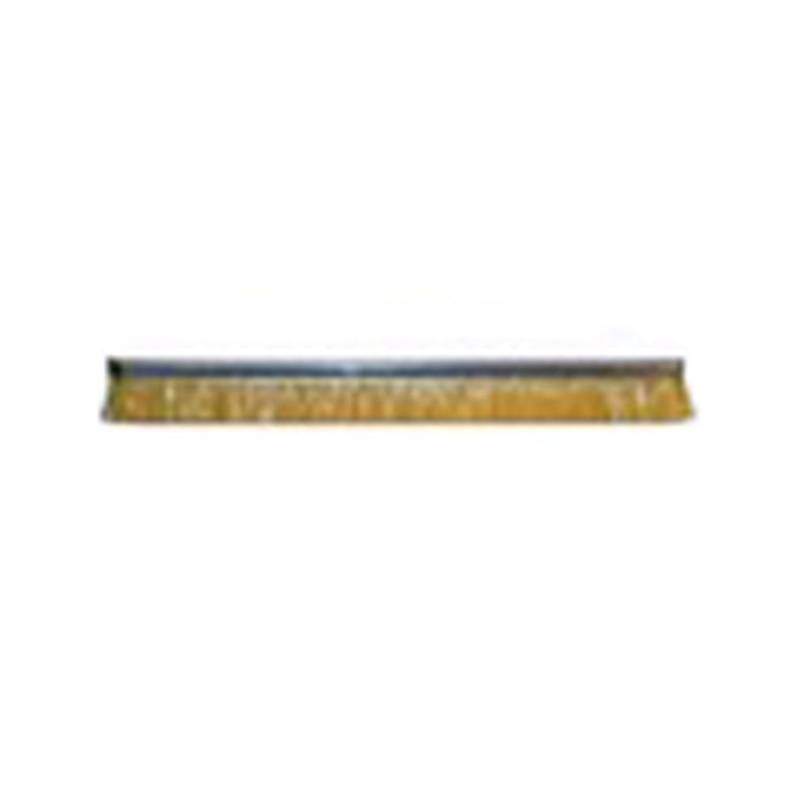 "Height 3"" No. 4 Channel Strip Brush - .010"" Bristle Diameter  -  Yellow Antistatic Nylon"