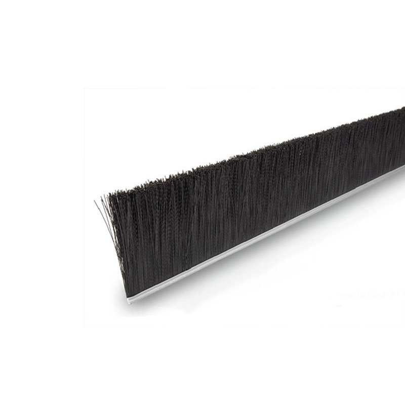 "Height 4"" No. 10 Channel Strip Brush - .020"" Bristle Diameter - Nylon"