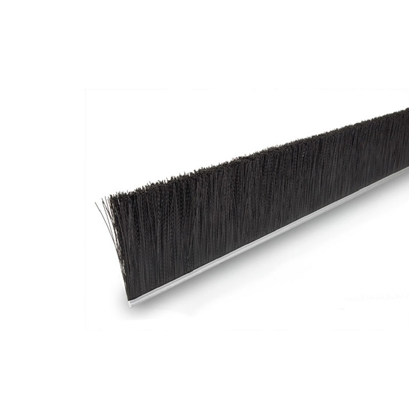 "Height 6"" No. 4 Channel Strip Brush - .014"" Nylon Bristle Diameter"