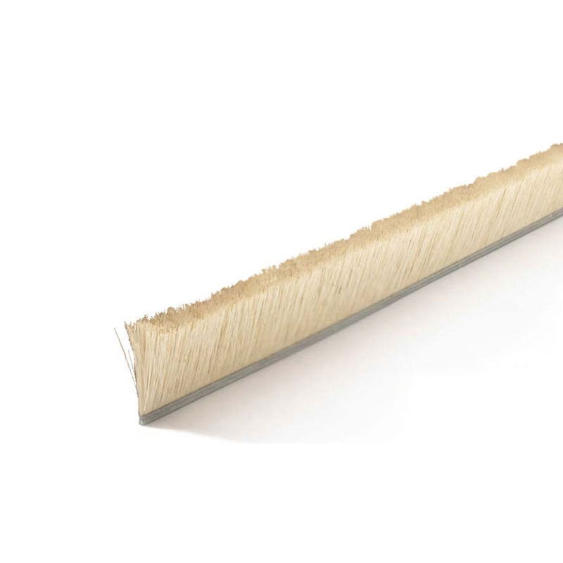 "Height .75"" No. 4 Channel Strip Brush - White Tampico"