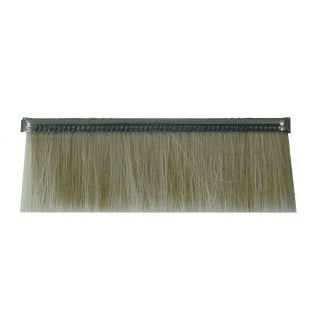 "Height .906"" No. 2.5 Straight Strip Brush - Goat Hair"