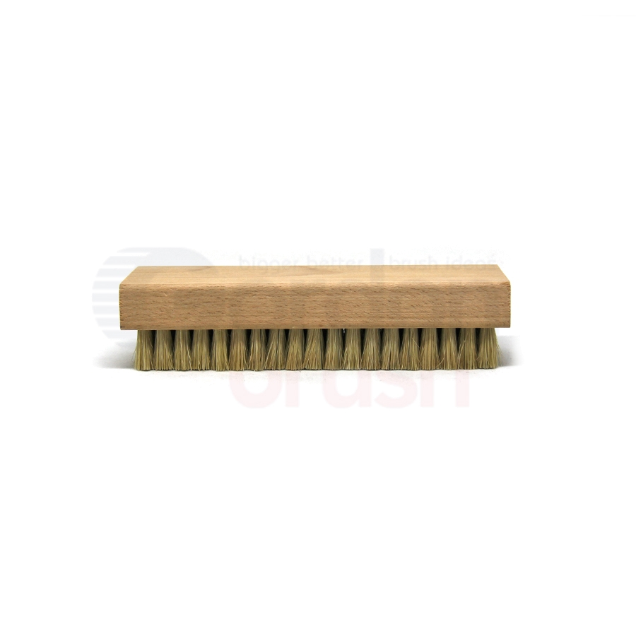 "Hog Bristle, 7-1/8"" x 2-1/4"" Large Block Brush 2"