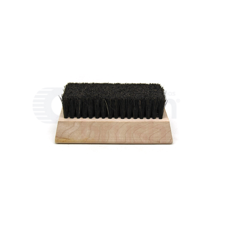 "Horsehair Bristle, 4-1/4"" x 2-1/2"" Wood Block Brush"