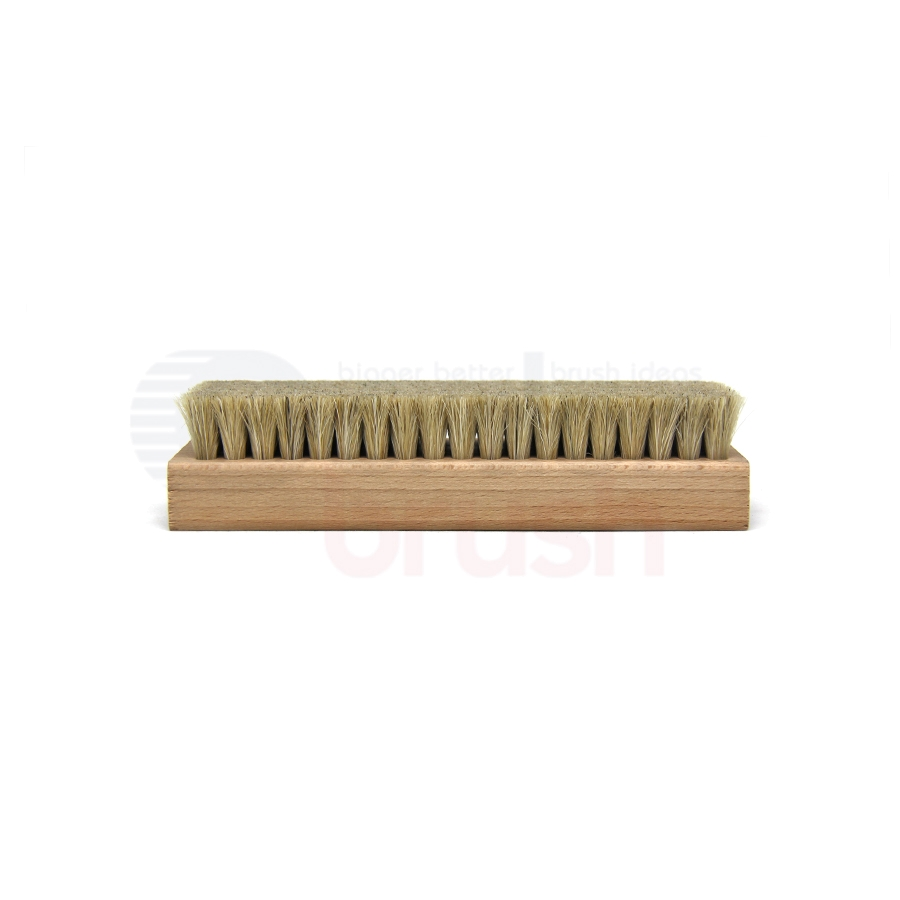 "Horsehair Bristle, 7-1/8"" x 2-1/4"" Large Block Brush"