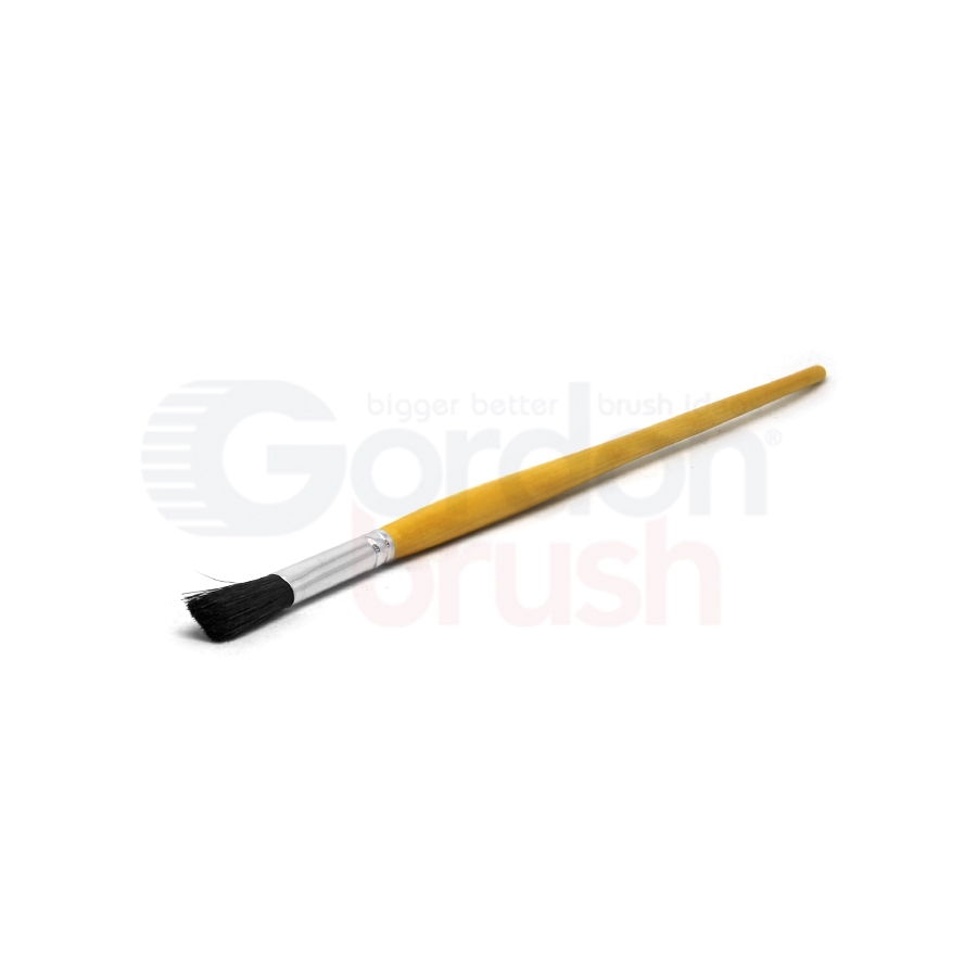 "Size 1/2"" Black Bristle Fitch Brush"