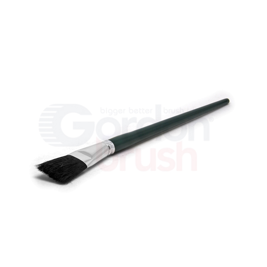 "Size 1"" Black Bristle Fitch Brush"