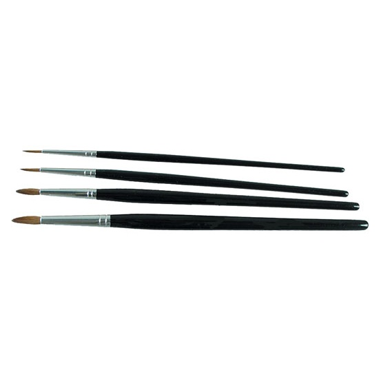Size 3 Horse Hair Round Artist Brush
