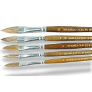 Sabeline Oval Artist Brush