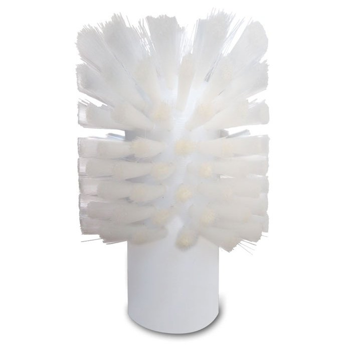 "Small Nylon Bore Brush - .008"" Natural 6.12 Nylon Fill (FDA compliant)"