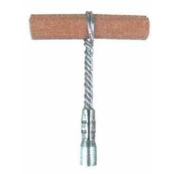 "T-Handle for 1/4"" NPT Extension Rods - Galvanized Steel"